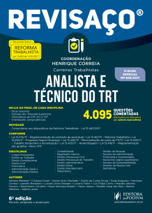 Revisaço - Analista e Técnico do TRT - 4.095 Questões comentadas (2018)