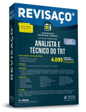 Revisaço - Analista e Técnico do TRT - 4.095 Questões comentadas