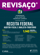 Revisaço - Receita Federal (Auditor e Analista) - 1.140 Questões Comentadas