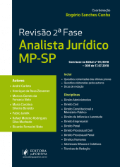 Revisão 2ª fase Analista MP-SP (2018)