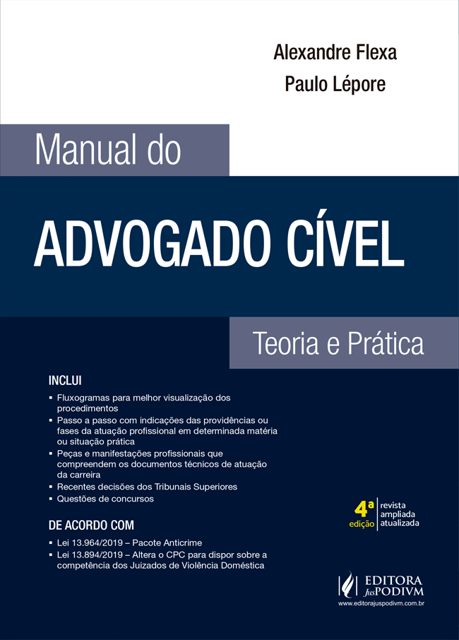 Manual do Advogado Cível (2020)